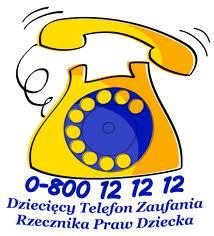 DZIECIĘCY TELEFON ZAUFANIA